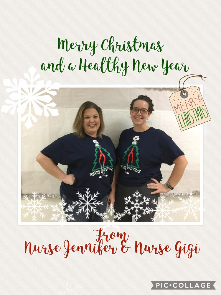 Have A Healthy New Year!!!  Nurse Jennifer & Nurse Gigi